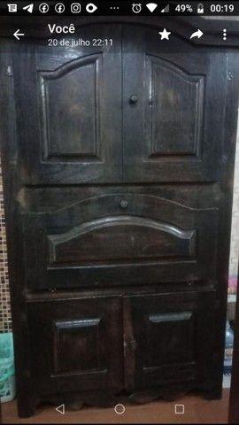 Móvel de madeira maciça de demolição, Colonial Mineiro Usado