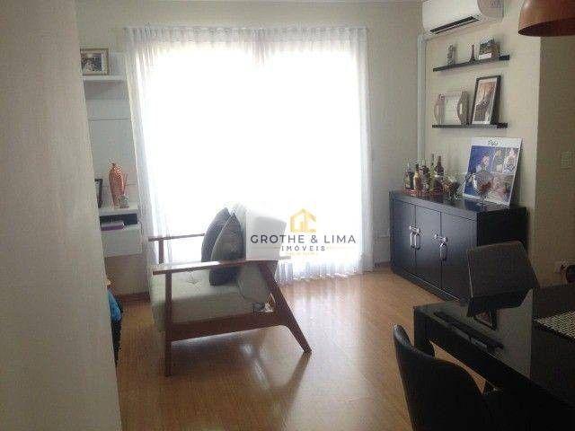 Apartamento com 2 dormitórios à venda, 72 m² por R$ 562.000 - Vila Ema - São José dos Camp - Foto 4