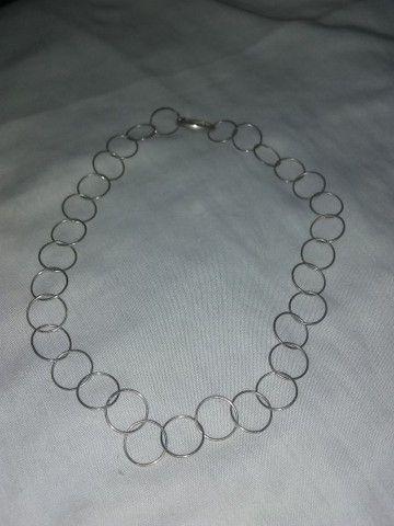 Cordão de prata - Foto 5