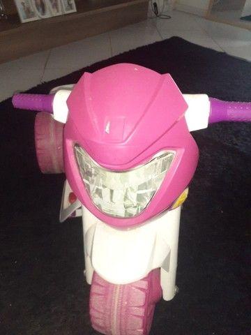 Moto eletrica infantil  - Foto 4