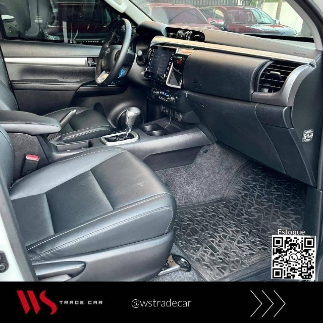 Hilux CD Srv 2021 Diesel 4x4 automática. Blindada  - Foto 8