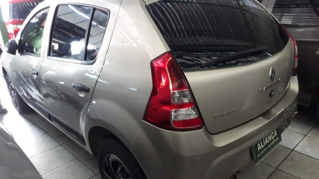 Renault Sandero Exp 1.0 2013 - Foto 10