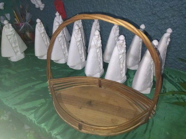 Vendo cestas de Vimi todas lindas diferenciadas - Foto 4