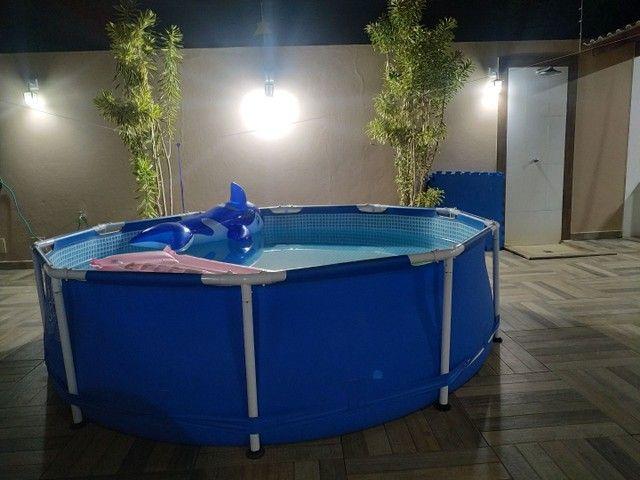 Piscina Intex 6500 litros - Perfeita - Foto 4