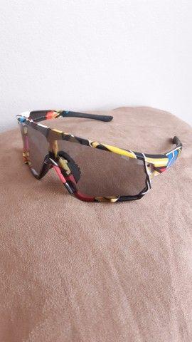 Óculos de sol Ciclismo Fotocromatico Polarizado  - Foto 3