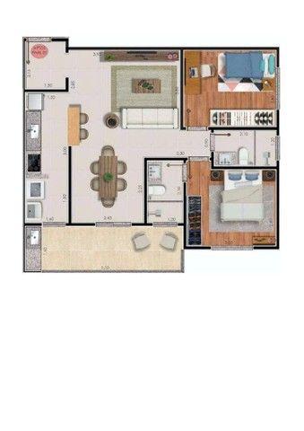 Apartamento com 2 dormitórios à venda, 74 m² por R$ 325.000,00 - Bairu - Juiz de Fora/MG - Foto 10