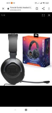 Fone de Ouvido Headset Gamer JBL Quantum 100 Com Microfone Removível e Foco na Voz  - Foto 2