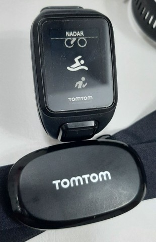 Relogio Tomtom Spark Music GPS + Cinta Cardio - Foto 3