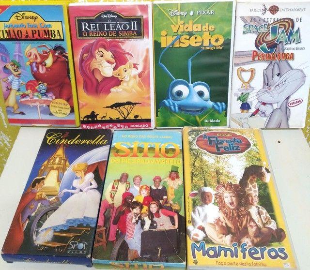 FITAS DE FILMES VHS - Foto 2