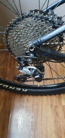 Bicicleta Scott Spark 960 - M ano 2014 shimano SLX 11v trava remota suspensões, alumínio. - Foto 6