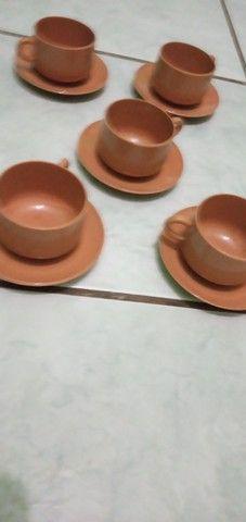 Xícaras para cafezinho acrílico  - Foto 2