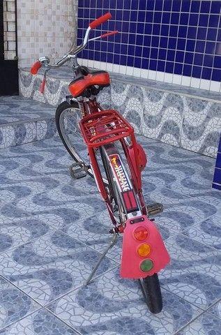 Bicicleta Barra Circular Monark Vermelha aro 26 - Foto 6