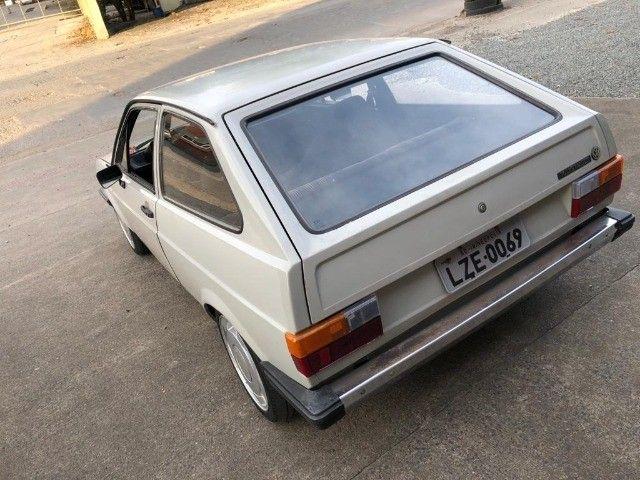 Vendo Gol BX 1985 Dupla carburação turbo - Foto 5
