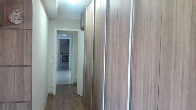Apartamento com 4 dormitórios para alugar, 245 m² por R$ 6.500,00/mês - Jardim das Colinas - Foto 15