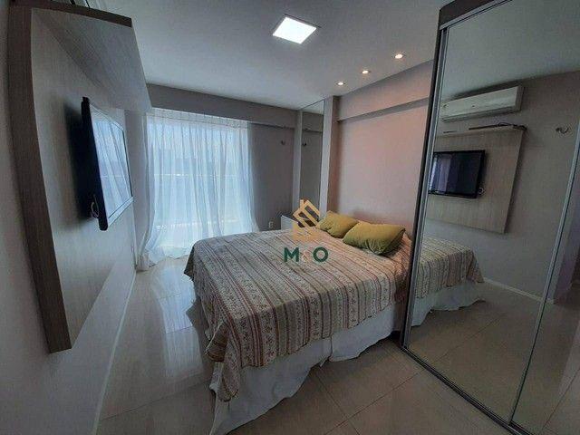 Apartamento com 3 dormitórios à venda, 73 m² por R$ 420.000,00 - Cambeba - Fortaleza/CE - Foto 7
