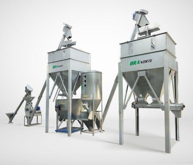 Fábrica de Ração Compacta 03 - 3Ton/h (Bovinos, Suinos e Ave)