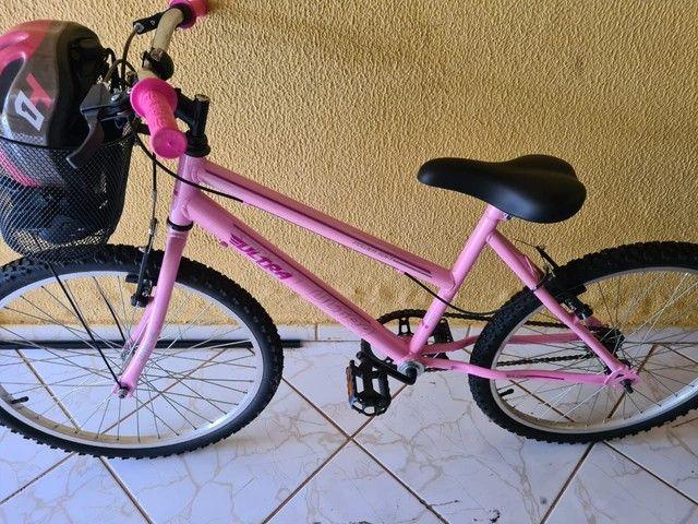 Bicicleta ultra power soft, aro 26, 21 marchas. Nova!!