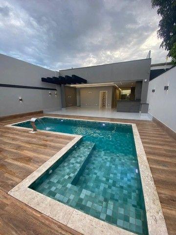 Casa de Alto Padrão, Dentro de Condomínio com 3 Suítes, Lazer em Vicente Pires. - Foto 6
