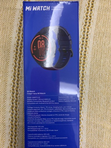 Smartwatch Relógio Inteligente Mi Watch Sport - Foto 3