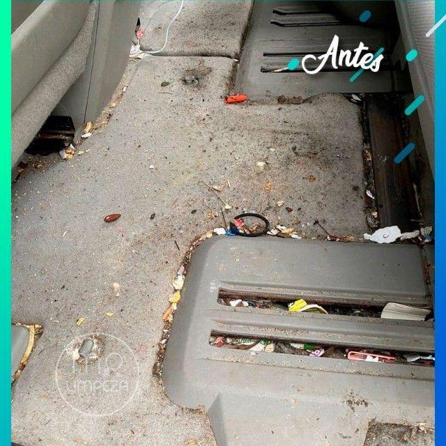Limpeza e Higienização Profissional de veículo