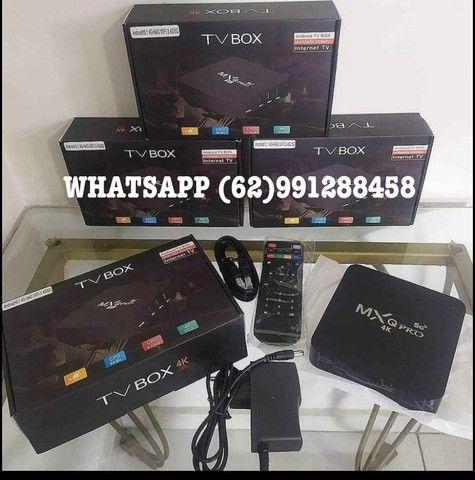 TV BOX MXQ PRO 4K 5G 8/128Gigas NOVO  - Foto 2