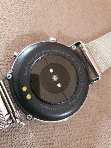 Smartwatch Lemfo SG3 Edição Branca - Foto 5