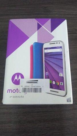 Smartphone Moto G? (3ª Geração) Colors 16GB XT-1543 - Branco - Foto 3