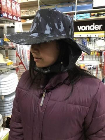 Chapéu de Tecido ou de Palha a pronta entrega - Foto 5