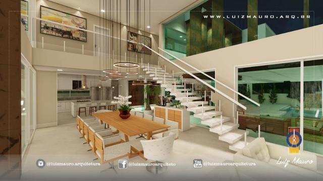 Condomínio Florais dos Lagos, casa Sobrado com 4 suites, em fase de construção - Foto 11