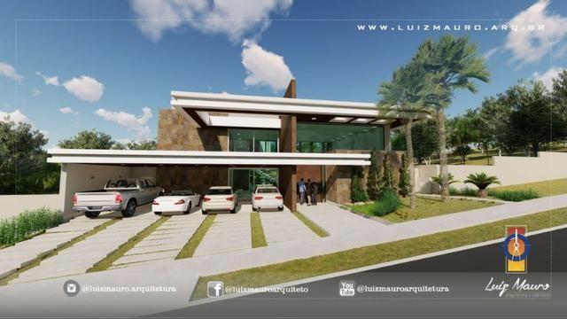 Condomínio Florais dos Lagos, casa Sobrado com 4 suites, em fase de construção - Foto 8