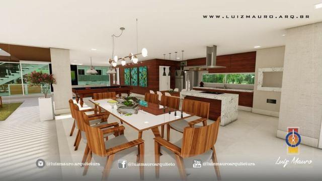Condomínio Florais dos Lagos, casa Sobrado com 4 suites, em fase de construção - Foto 10