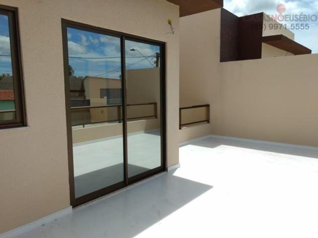 Casa duplex nova no centro do eusebio, 162 metros, 3 suítes, apenas 350 mil pra fechar - Foto 9