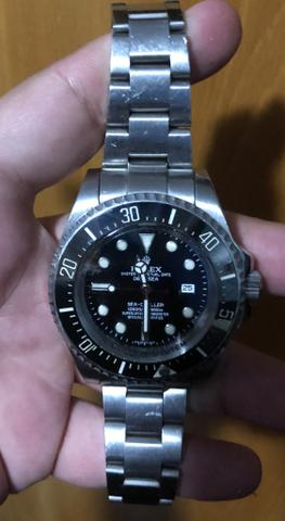 5d2b54357d4 Rolex deepsea preto - Bijouterias