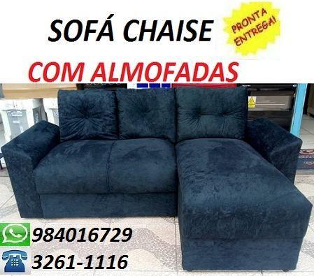 Peça Já é Receba No Mesmo Dia Lindo Sofa Com Chaise Apenas 599,00
