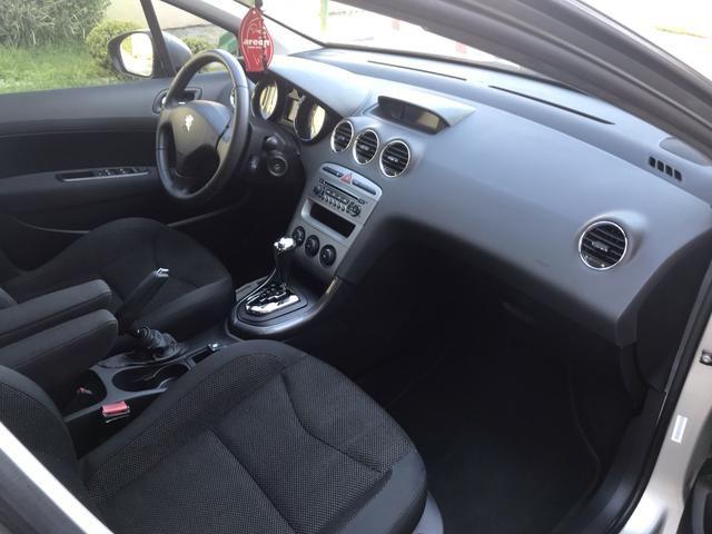 Peugeot 408 Automático / GNV G5, completo, 2012 Impecável - Foto 6