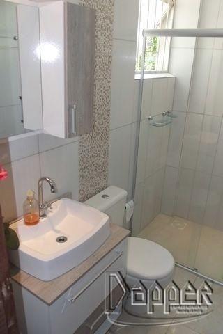 Apartamento à venda com 1 dormitórios em Ouro branco, Novo hamburgo cod:10910 - Foto 6