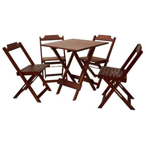 Oferta -Mesas e Cadeiras Dobraveis- Melhor Preço
