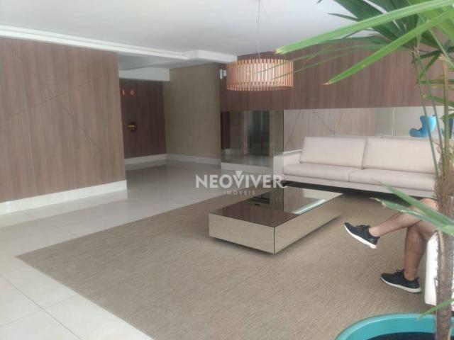 Residencial matriz -apartamento com 3 dormitórios à venda, 103 m² por r$ 495.000 - setor b - Foto 2