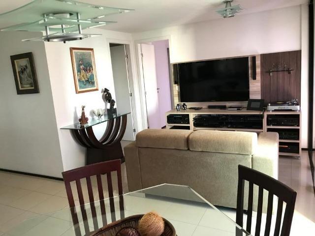 AP1318 Edifício Jardins de Iracema, apartamento na Praia de Iracema, 2 suítes, 2 vagas - Foto 14