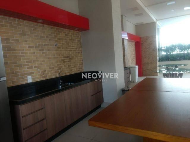 Residencial matriz -apartamento com 3 dormitórios à venda, 103 m² por r$ 495.000 - setor b - Foto 18