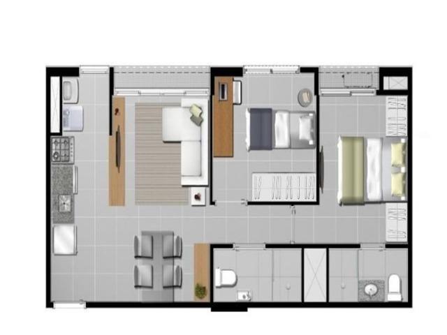 Apartamentos na Samambaia de 2 quartos com suíte no Ilha Azul - Foto 3