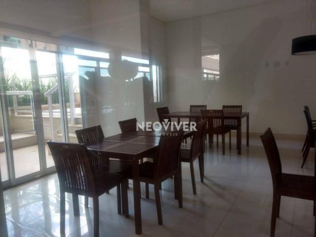 Residencial matriz -apartamento com 3 dormitórios à venda, 103 m² por r$ 495.000 - setor b - Foto 13