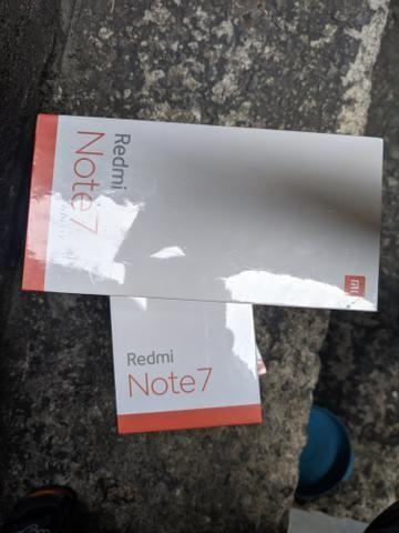 Redmi note 7 64 GB 4 de RAM da Xiaomi. novo lacrado entrego hj!!