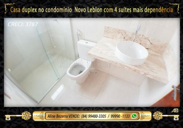 Duplex com 5 suítes no condomínio Novo Leblon, confira - Foto 14