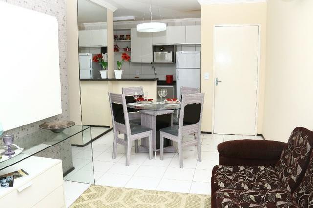 Apartamento com doc. gratis: 2 quartos, 2 banheiros , piscina, salao de festas - Foto 18