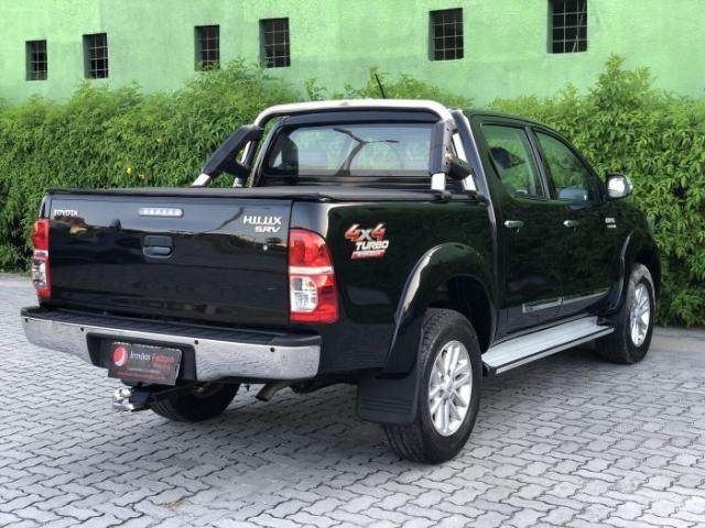Toyota hilux 2013 3.0 srv 4x4 cd 16v turbo intercooler diesel 4p automÁtico - Foto 5