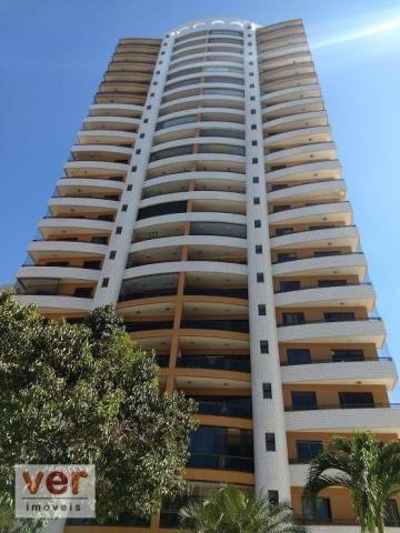 Apartamento com 3 dormitórios à venda, 137 m² por R$ 850.000,00 - Cocó - Fortaleza/CE