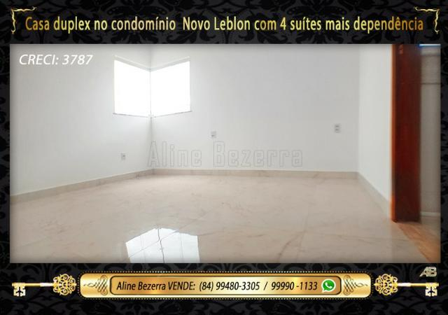 Duplex com 5 suítes no condomínio Novo Leblon, confira - Foto 11