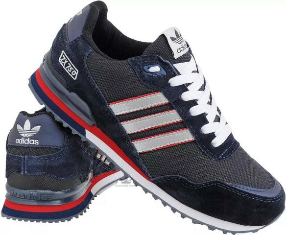 on sale 1bb4c 4886e Tenis Casual Adidas Zx-750 Tenis Casual