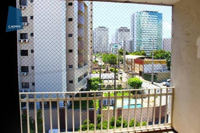 Apartamento com 3 dormitórios para alugar, 100 m² por R$ 1.600/mês - Papicu - Fortaleza/CE - Foto 9